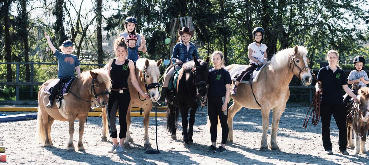 Reitgruppen, Geburtstage mit Pferd und Reitunterricht